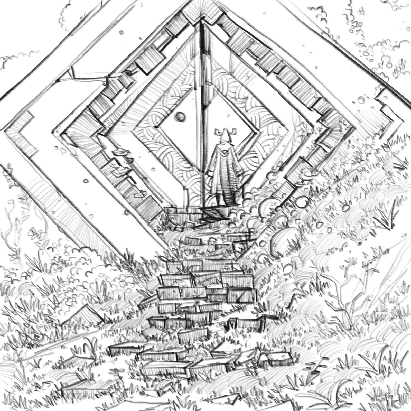 Forgotten Ruins - Sketches