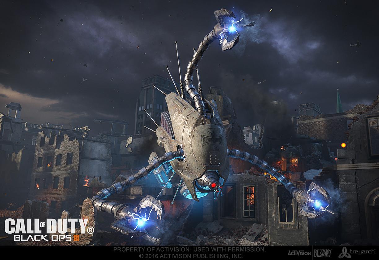 Artstation Call Of Duty Black Ops Iii Sentinel Drone Trevor