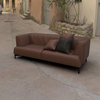 Timothy klanderud magenta sofa render 02a