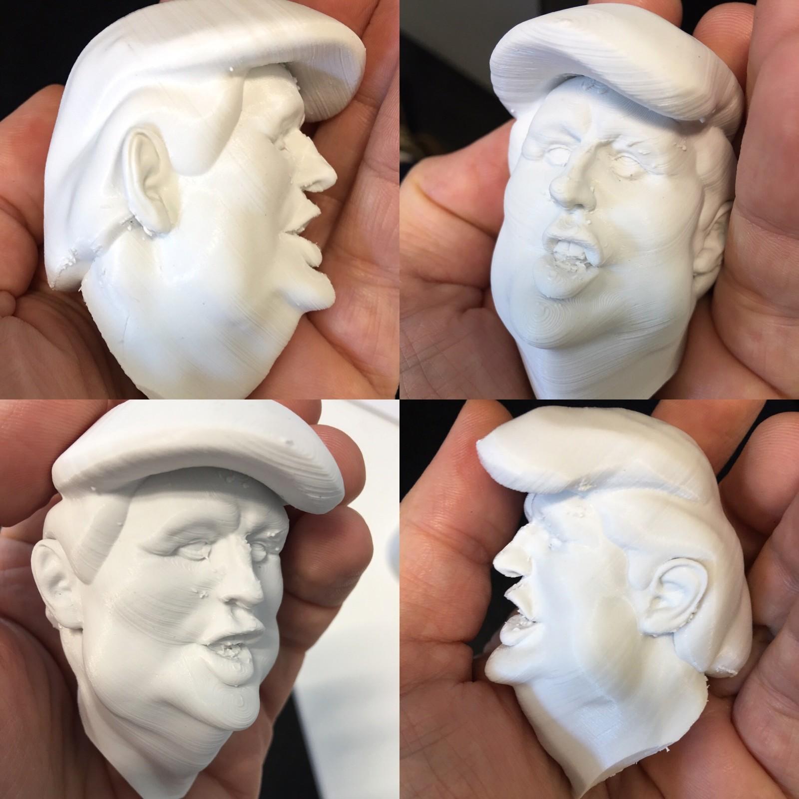 Donald T - 3D print test