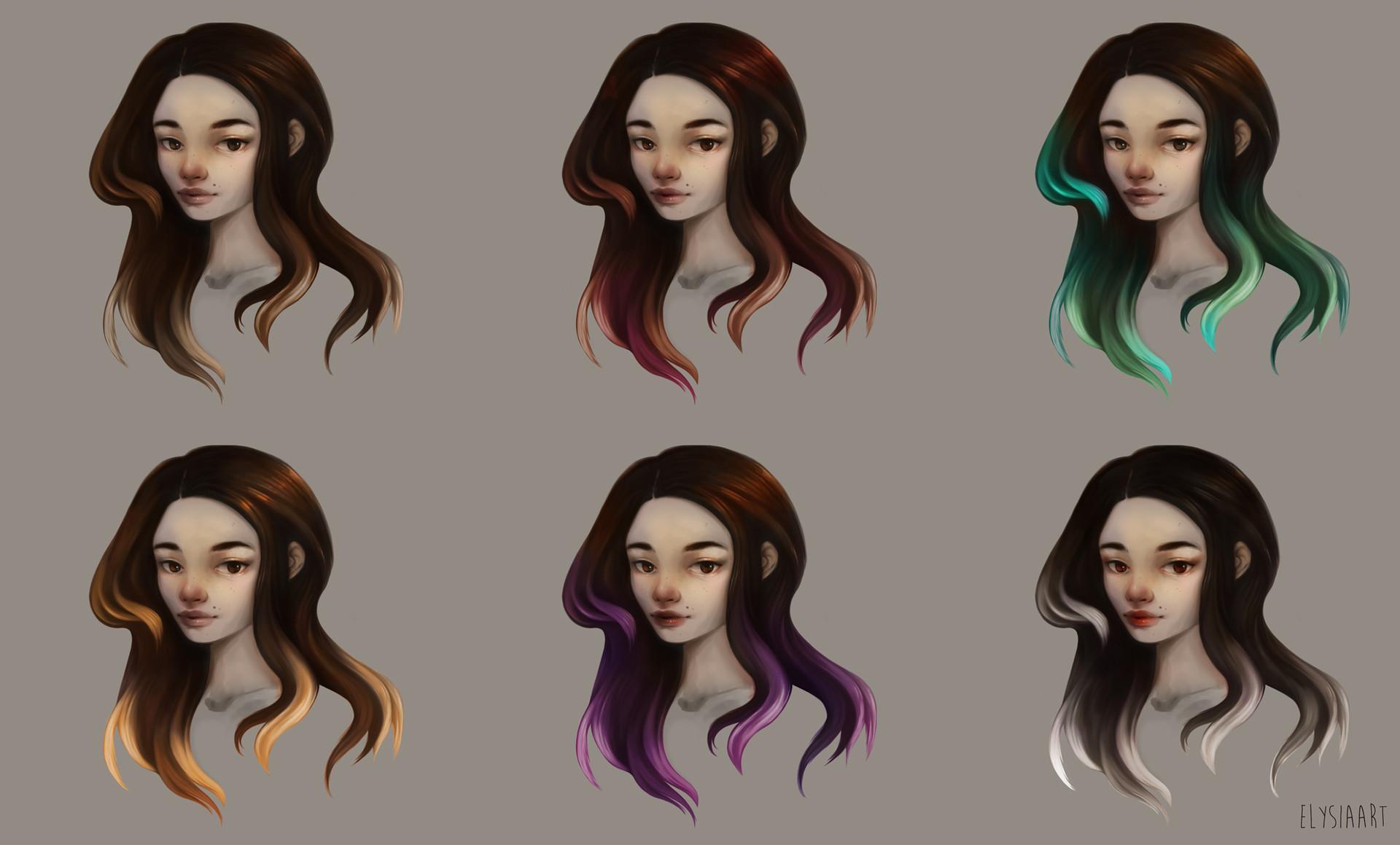 Elysia womersley jun2017 hairstyle colorways