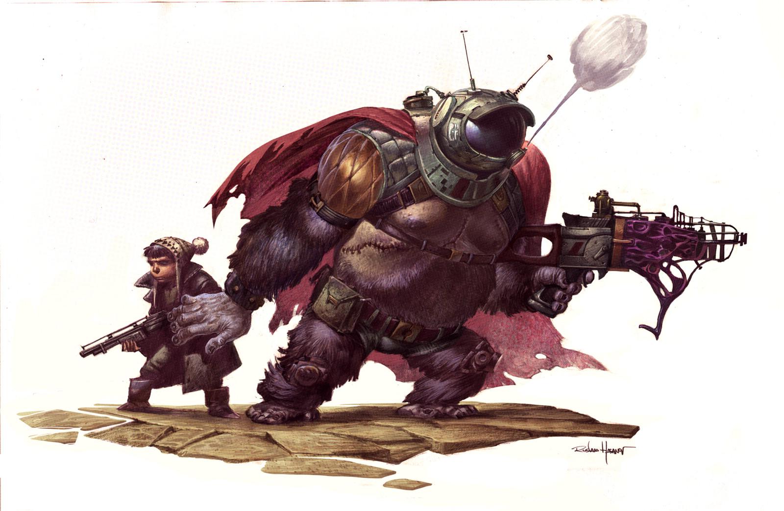 Robot Monster!!