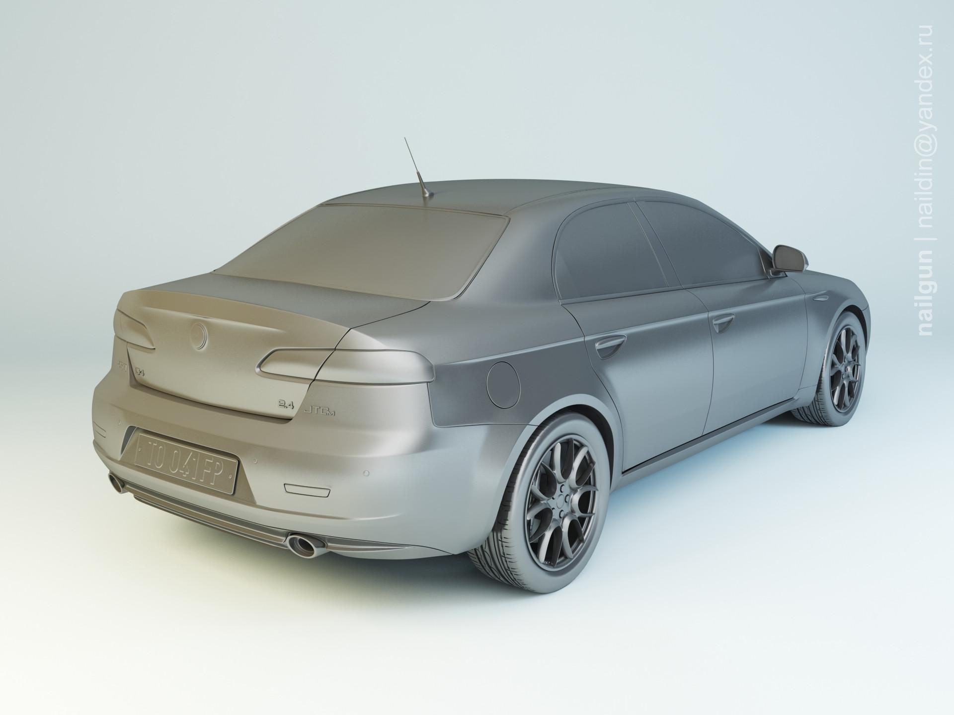 Nail khusnutdinov mpwc 044 000 alfa romeo 159 modelling 1
