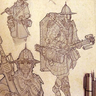Federico ferrarese evo crossbowbot artstation
