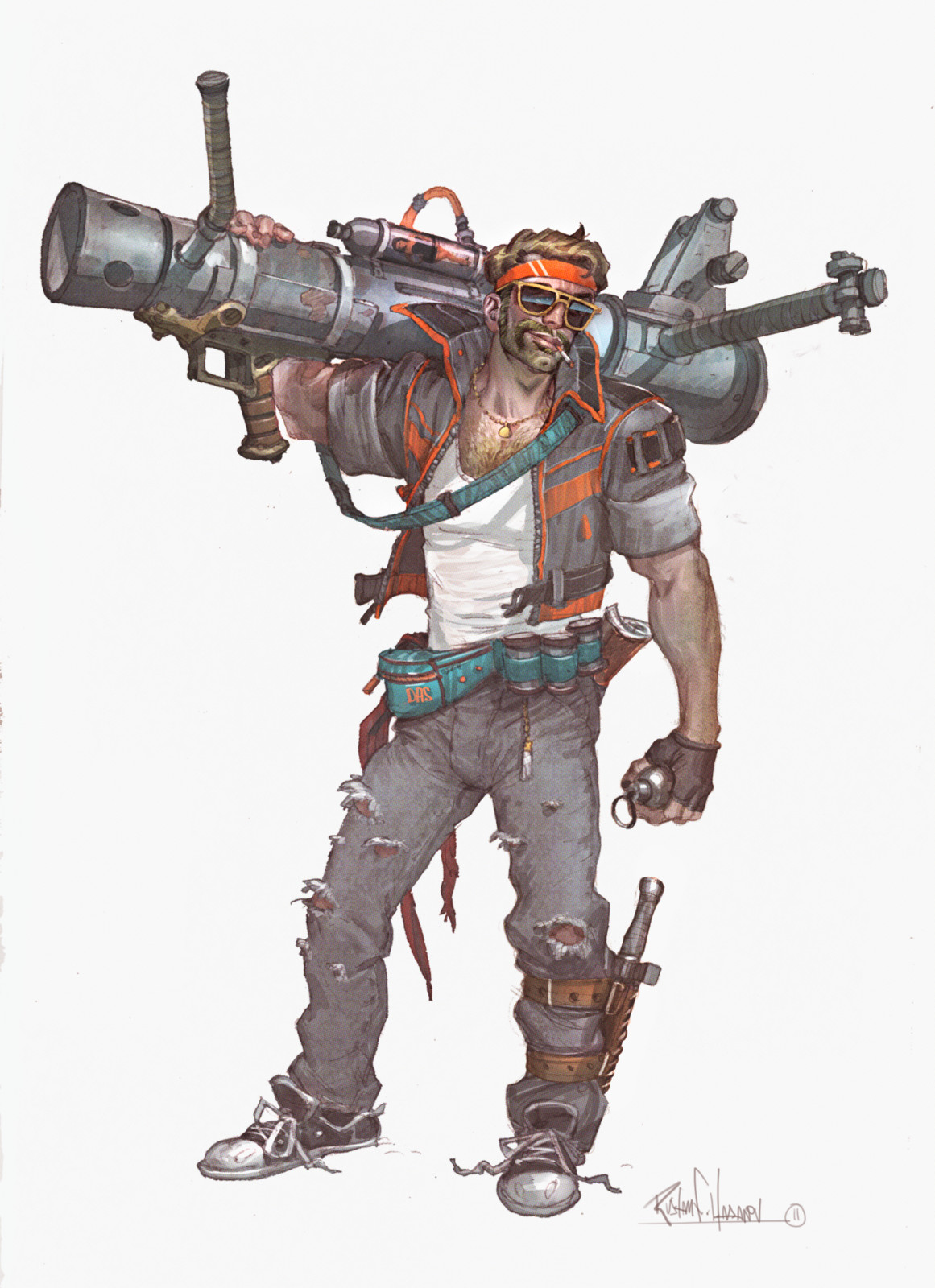Misc Video Game character design 1
