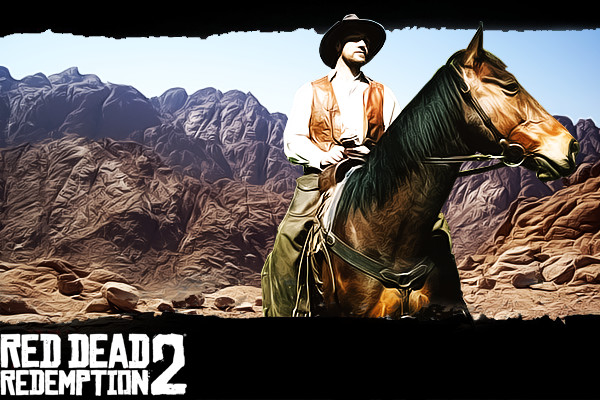 ArtStation - Red Dead Redemption 2, Solar Glitch