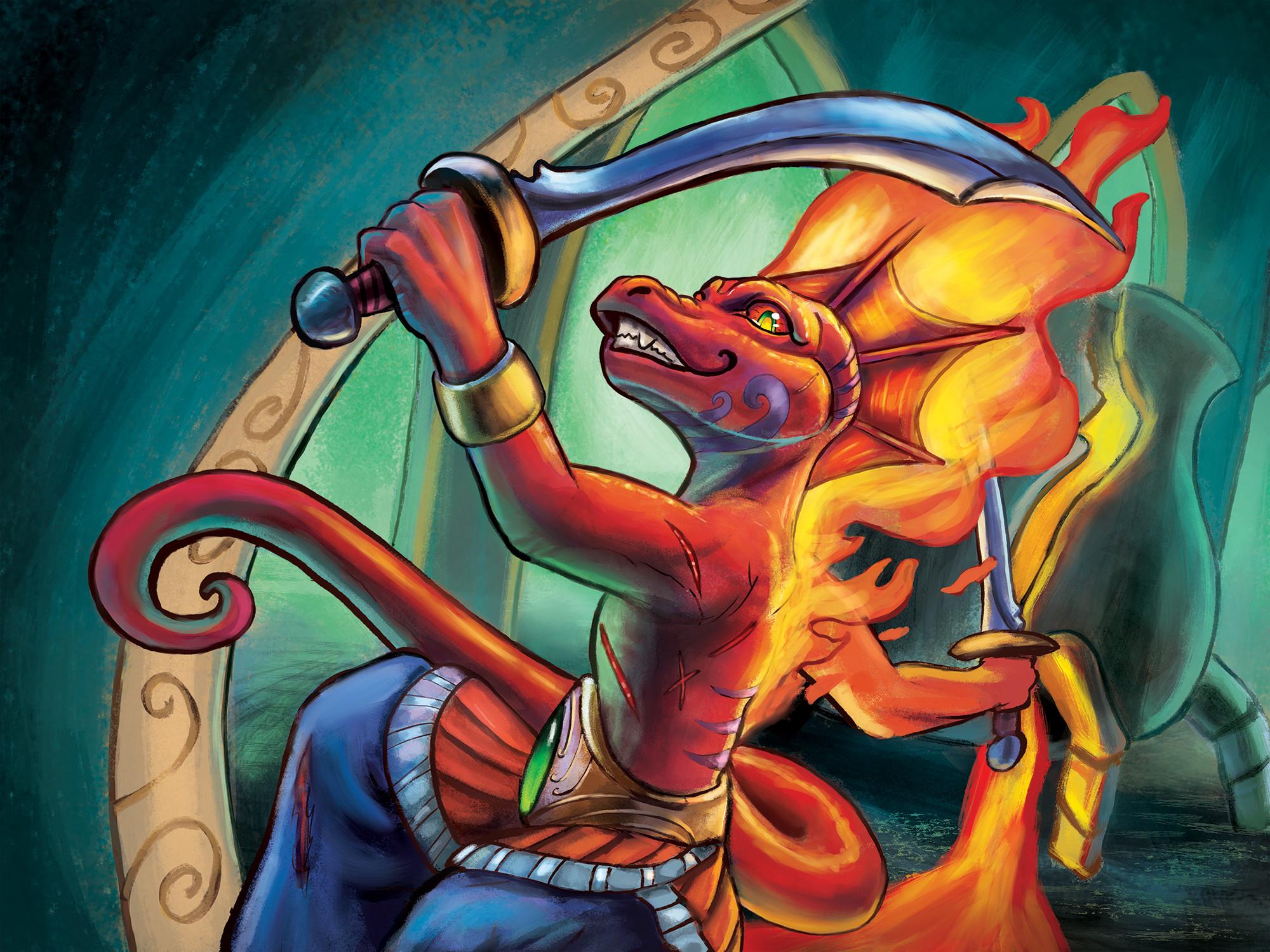 Lixivium Games, War Salamander Card