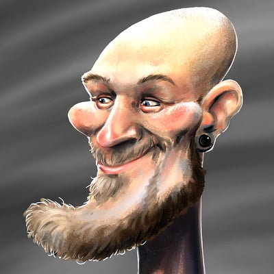 Cody anderson marc caricature 8 6 17 exp for artstation