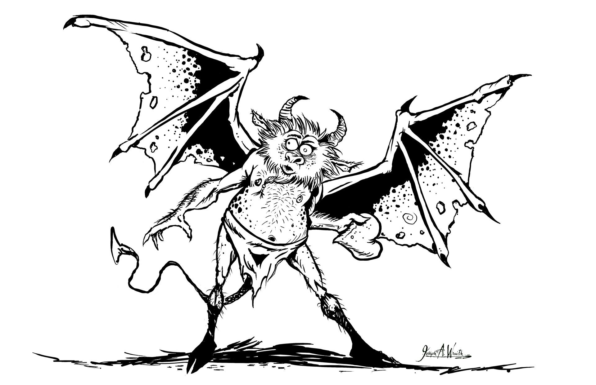 Joseph wraith demonheart 1920