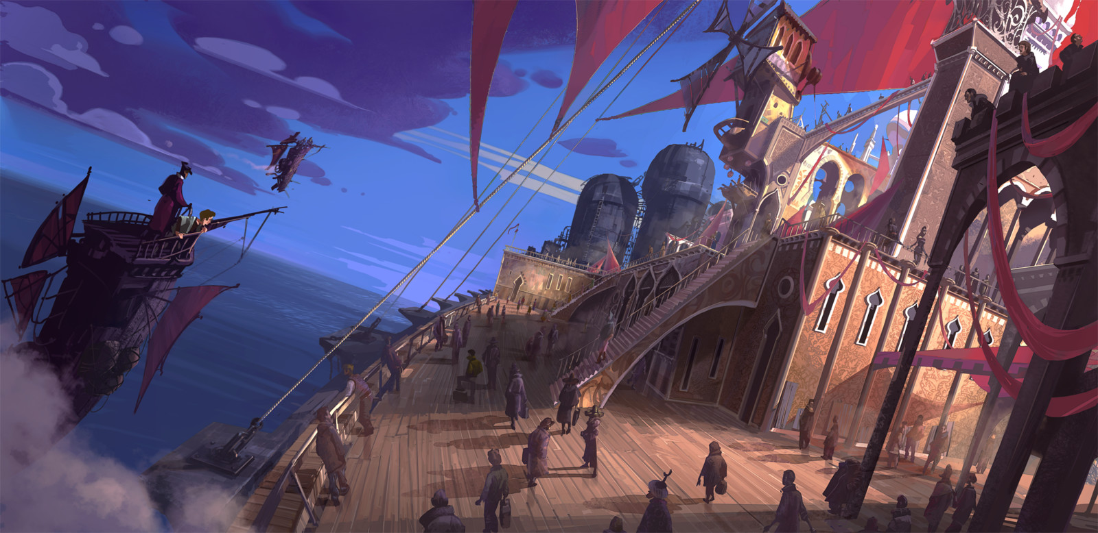 The Alchemist, Boat ride