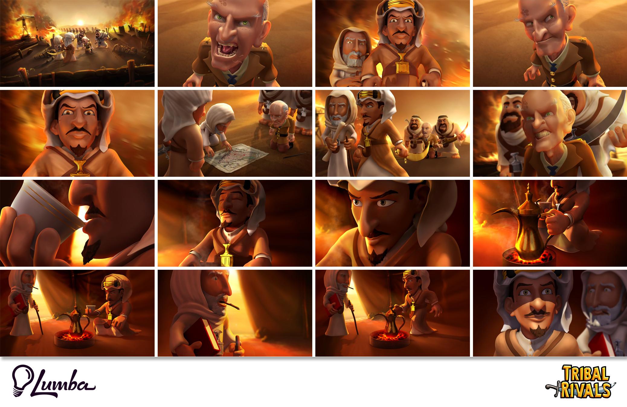 Tribal Rivals: Comic Panels: Part 03