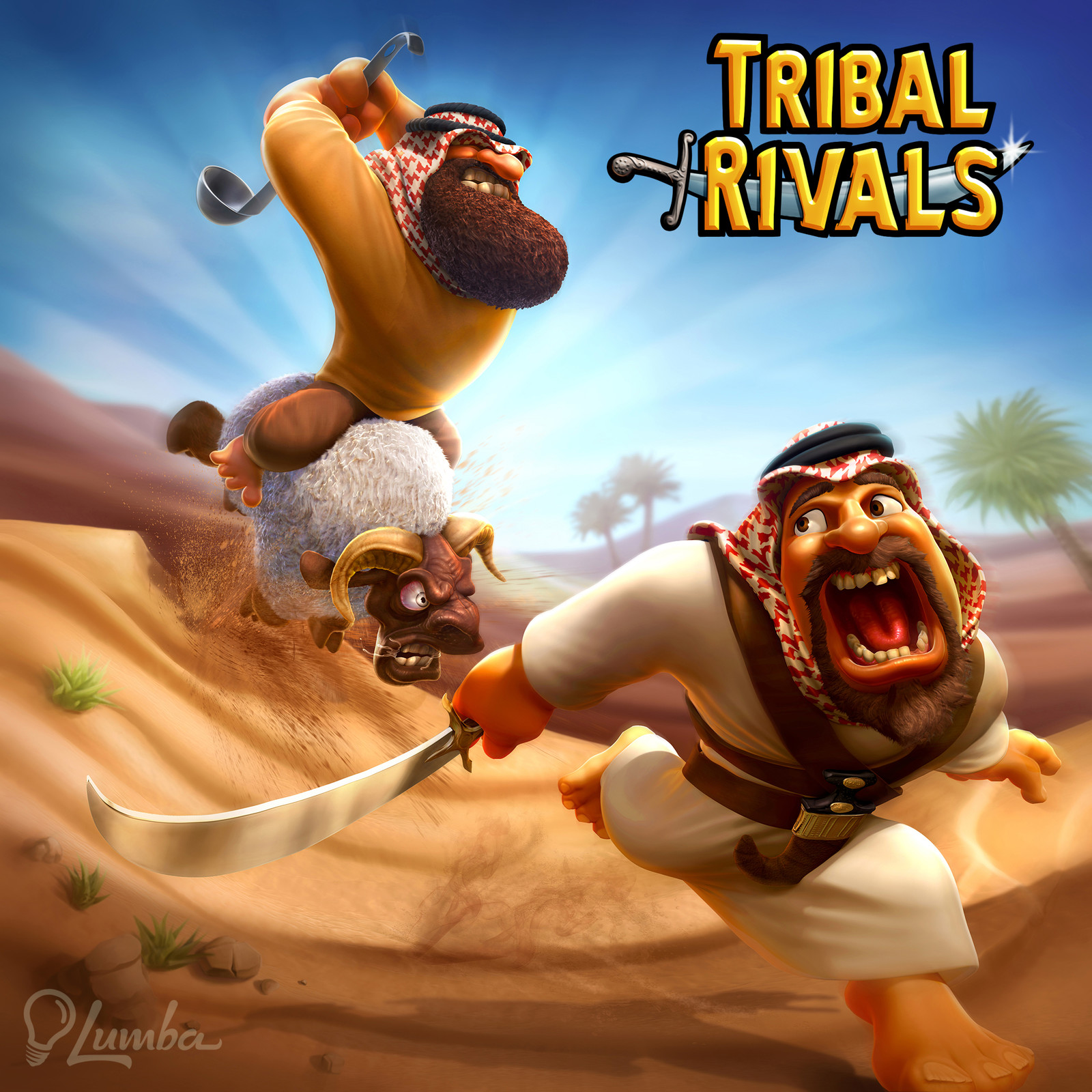 Tribal Rivals: Mobile Game for Lumba