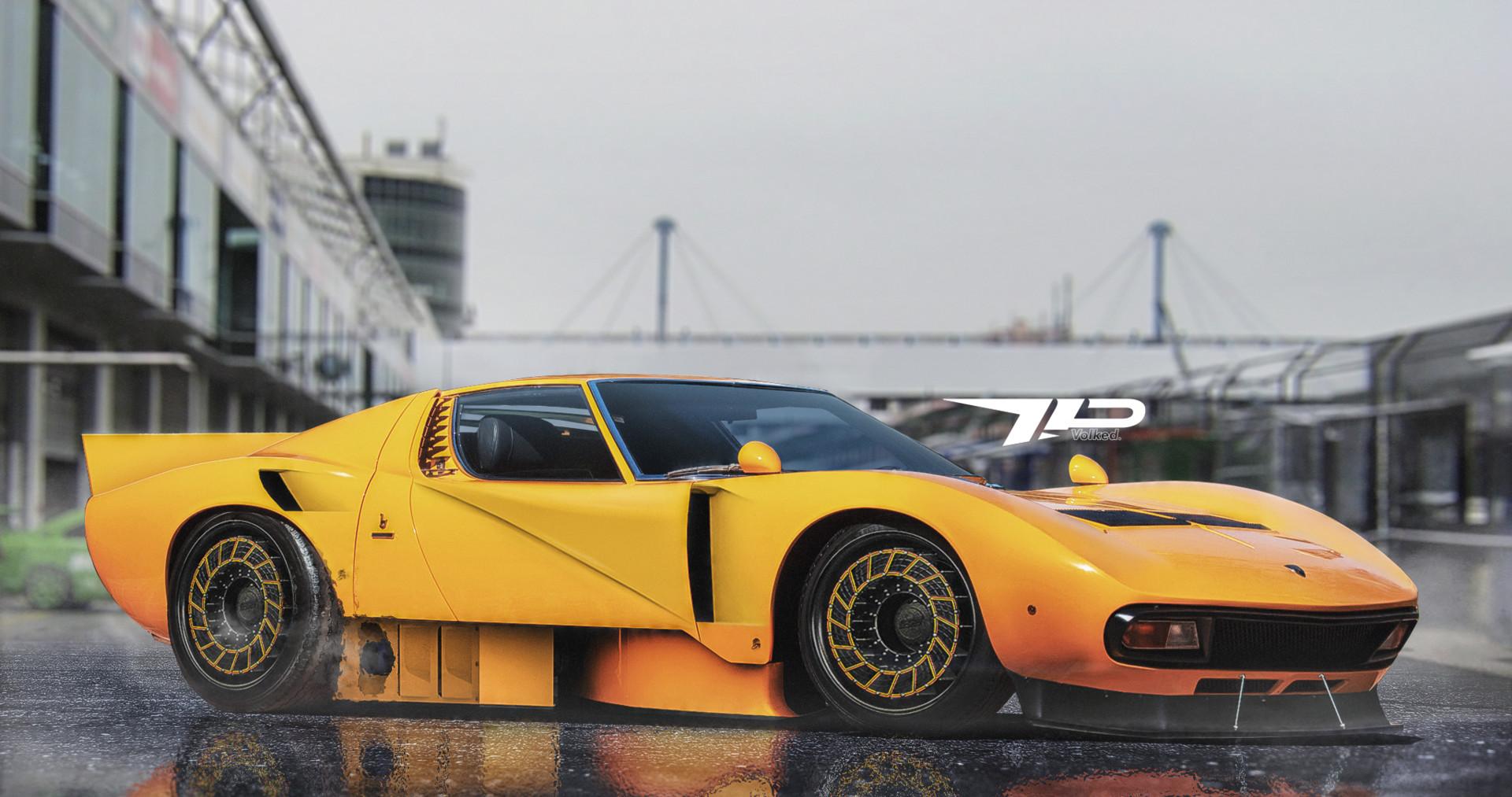 Artstation Lamborghini Miura Le Man S Racer Sergey Volkov