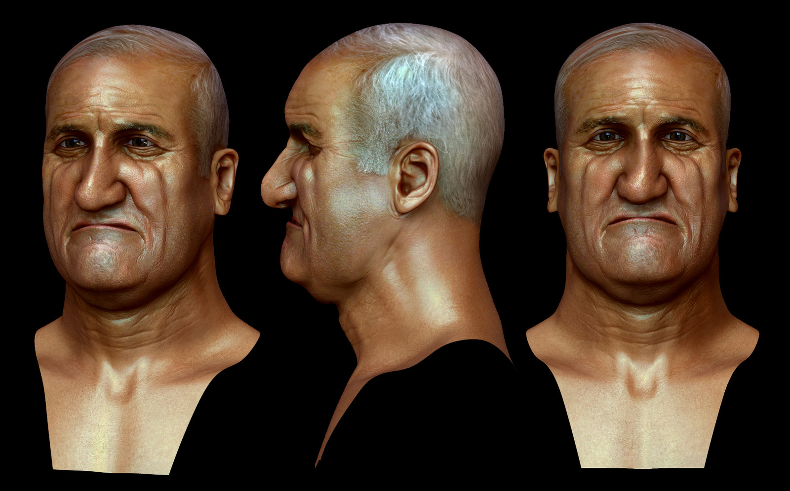 Heads for 3D printing.