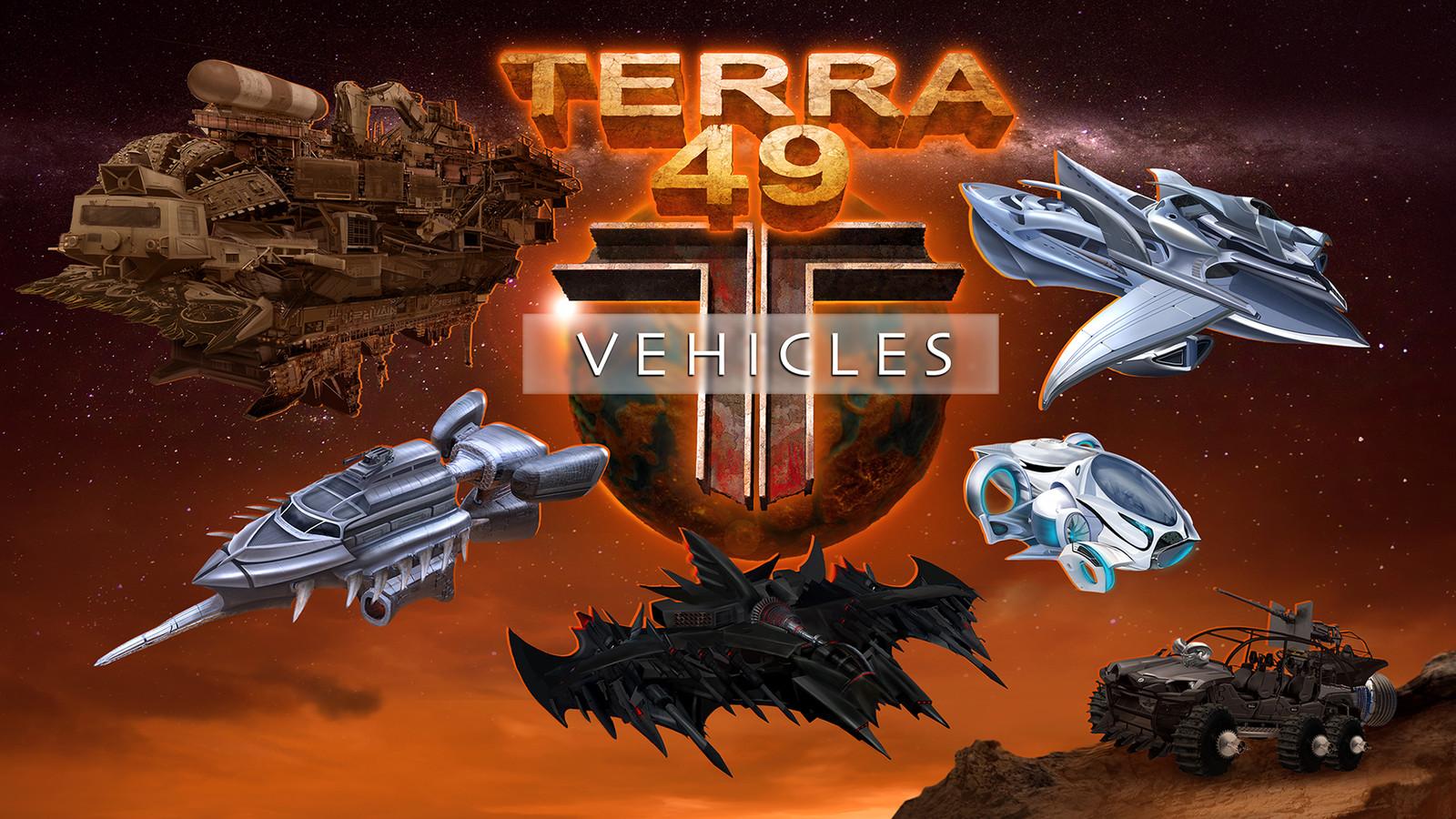 Terra 49: Vehicles