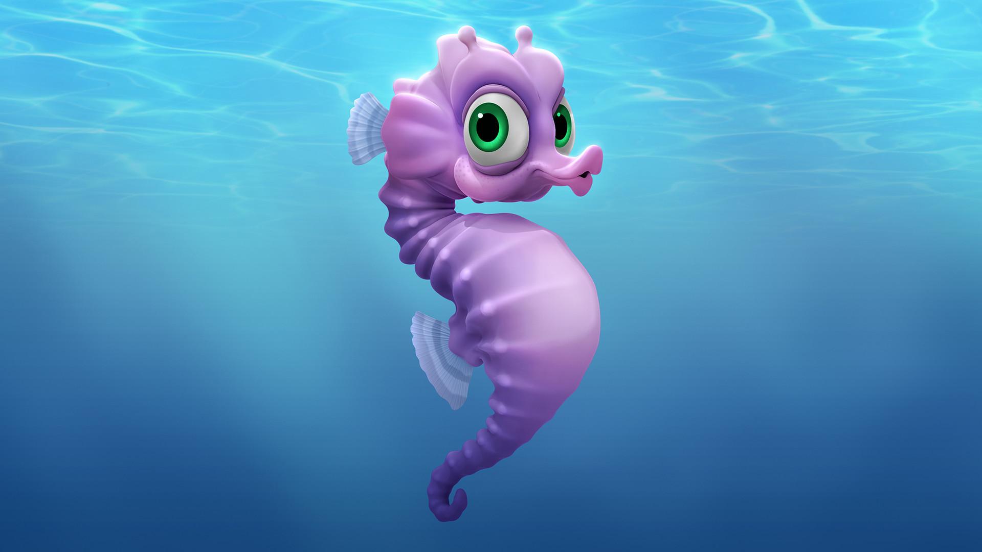 Dave wolf seaburt seahorse dw 001