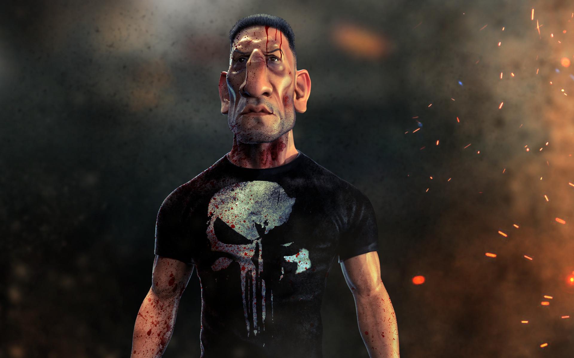 Artstation Jon Bernthal As The Punisher From The Netflix