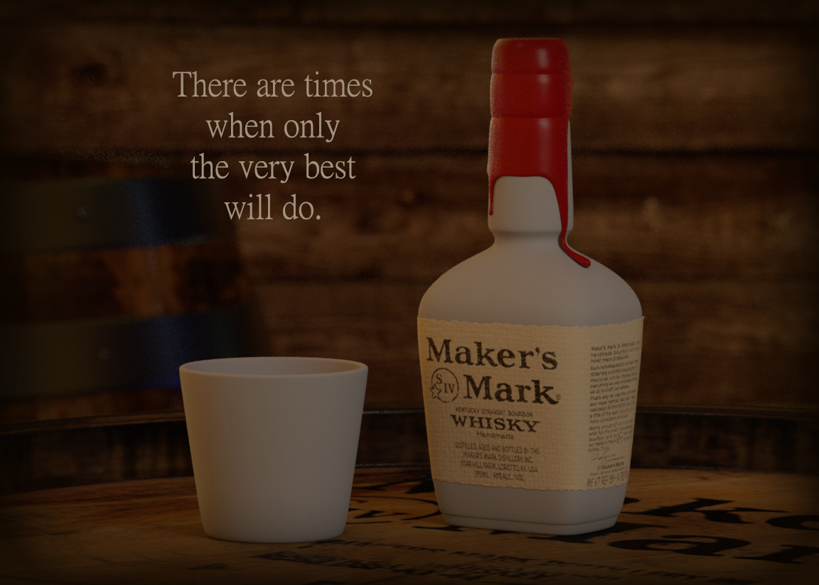 Maker's Mark Whisky - Advertisement