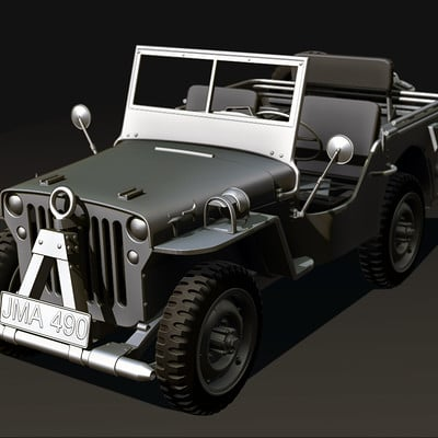 Freya game jeep facde2