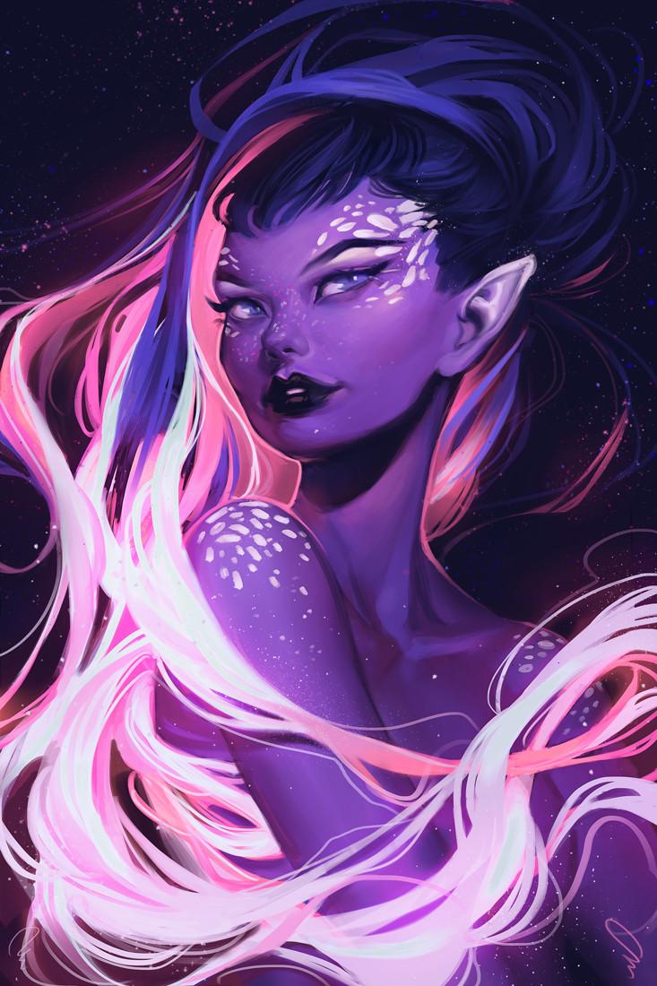 Maid of Stars