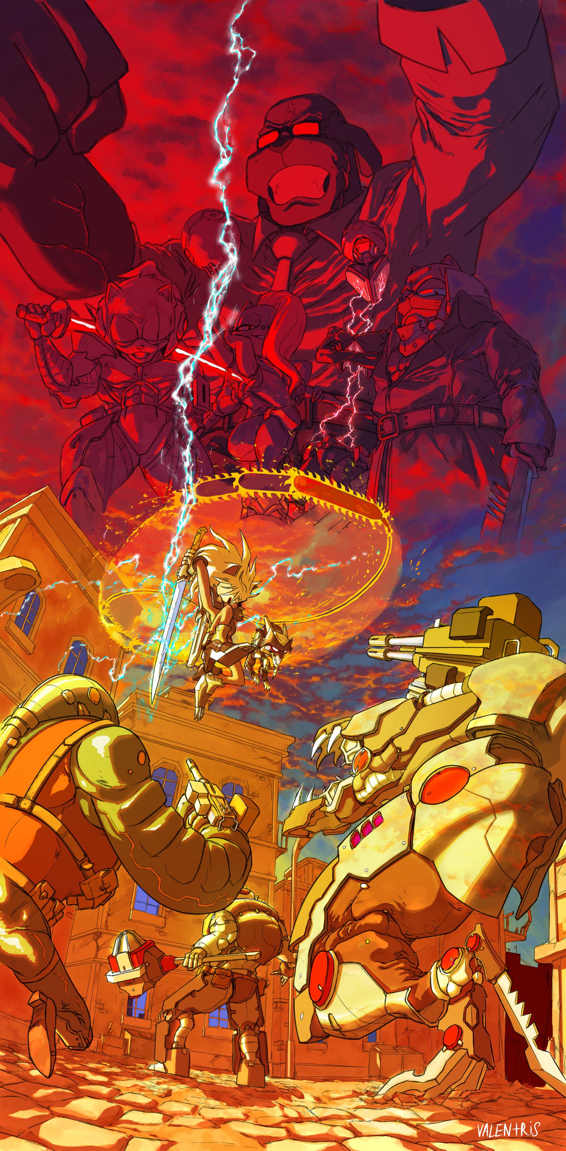 Artstation Lightning Bolt Valentris Rrock