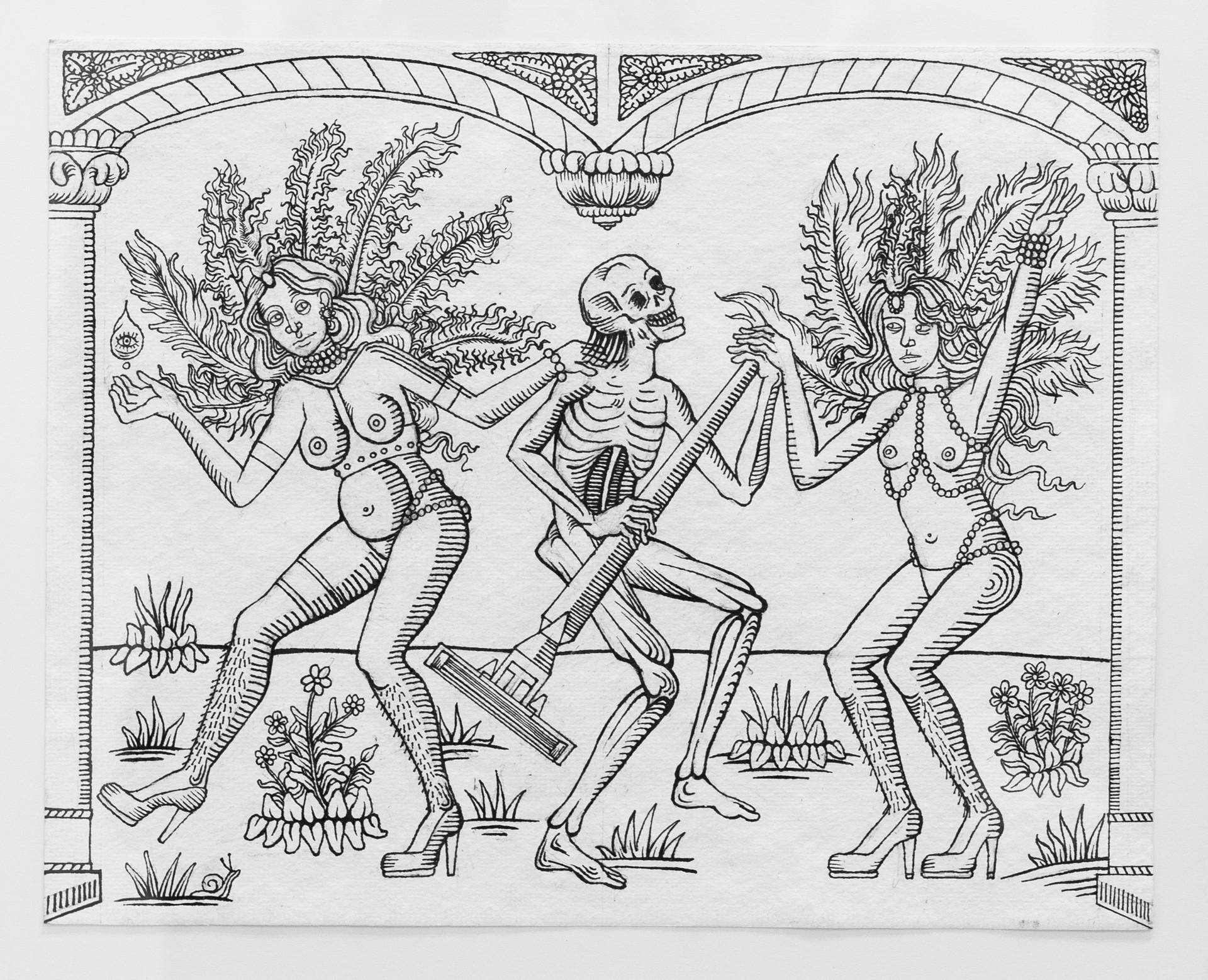 Agathe pitie agathe pitie combardus mortuis danse macabre au rasoir credits photo johan cattant