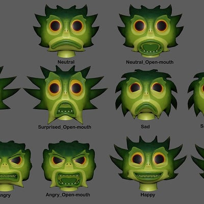 Roger borelli alien faceshapes v01