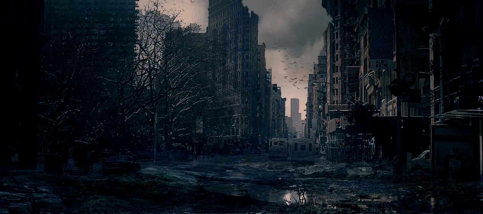 Post Apocalyptic City By Matthew Watts Imaginarywastelands