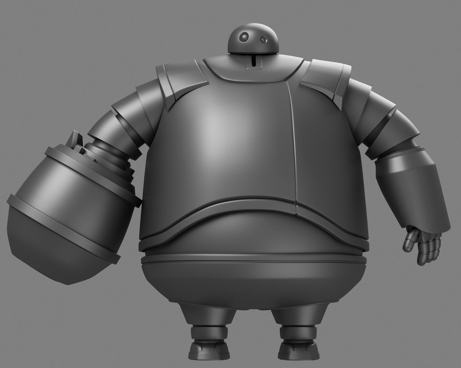 "Zog for the film ""Astro-Boy"" for IMAGI Animation Studios."