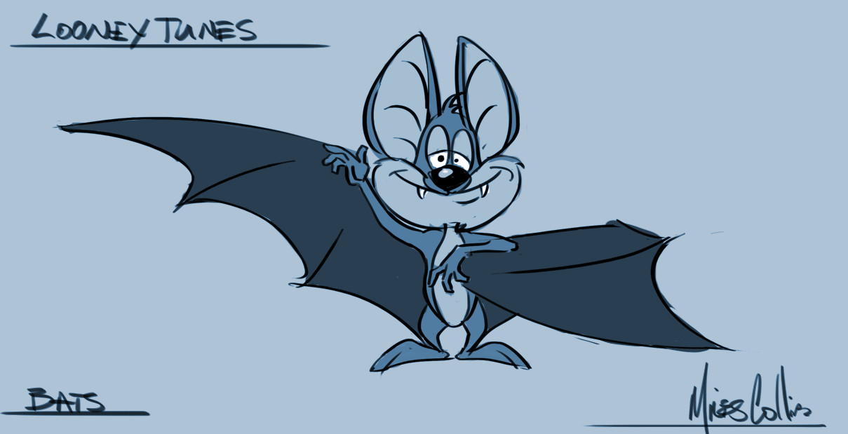 Bats. These ended up being so small there was really no detail, but I had fun drawing this nonetheless.