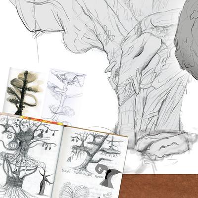 Evi vanca evivanca setdesign sketchesnature