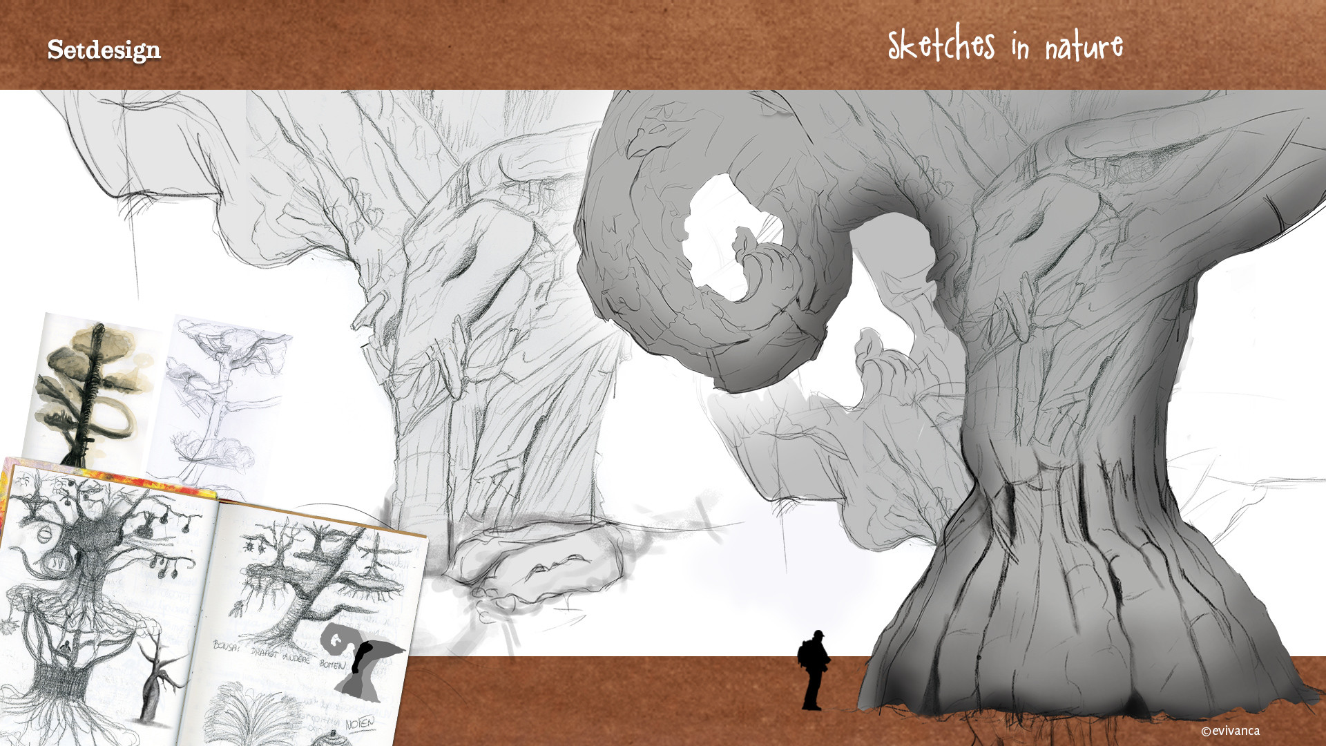 Evi vanca evivanca setdesign sketchesnature