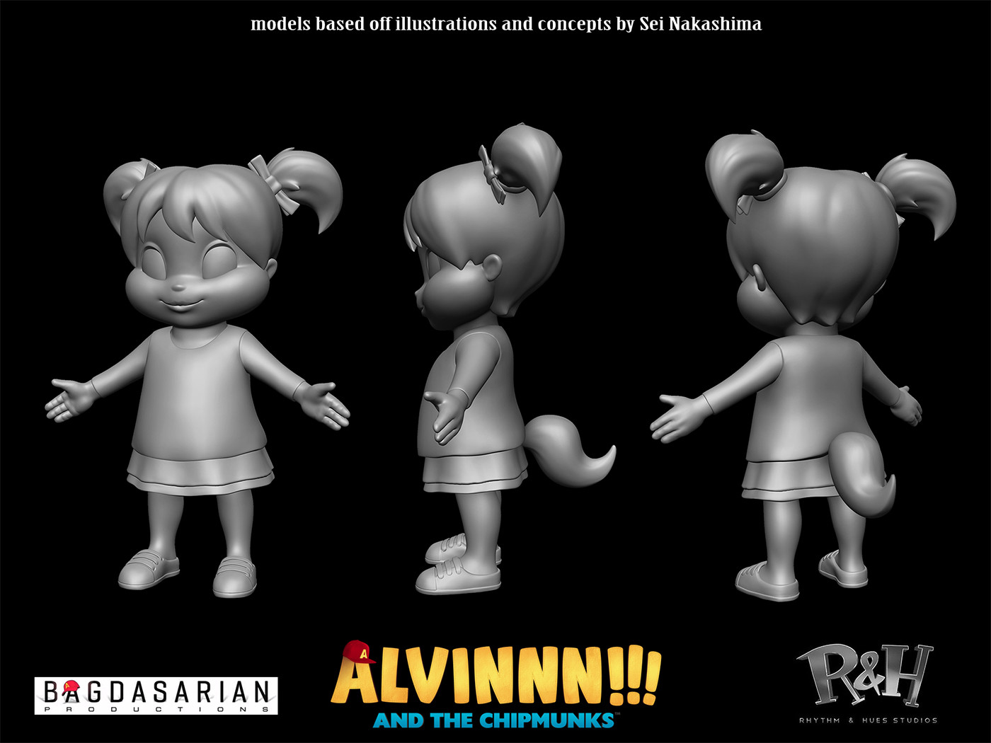 Alvinnn And The Chipmunks Brittany And Alvin artstation - alvinnn!!! and the chipmunks, trevor crandall