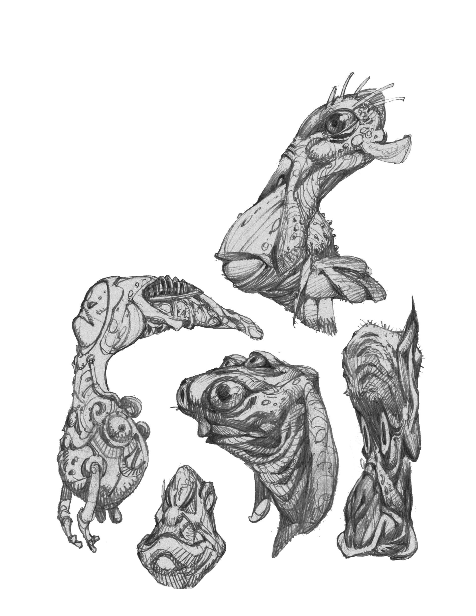 Rustam hasanov rh sketches 3