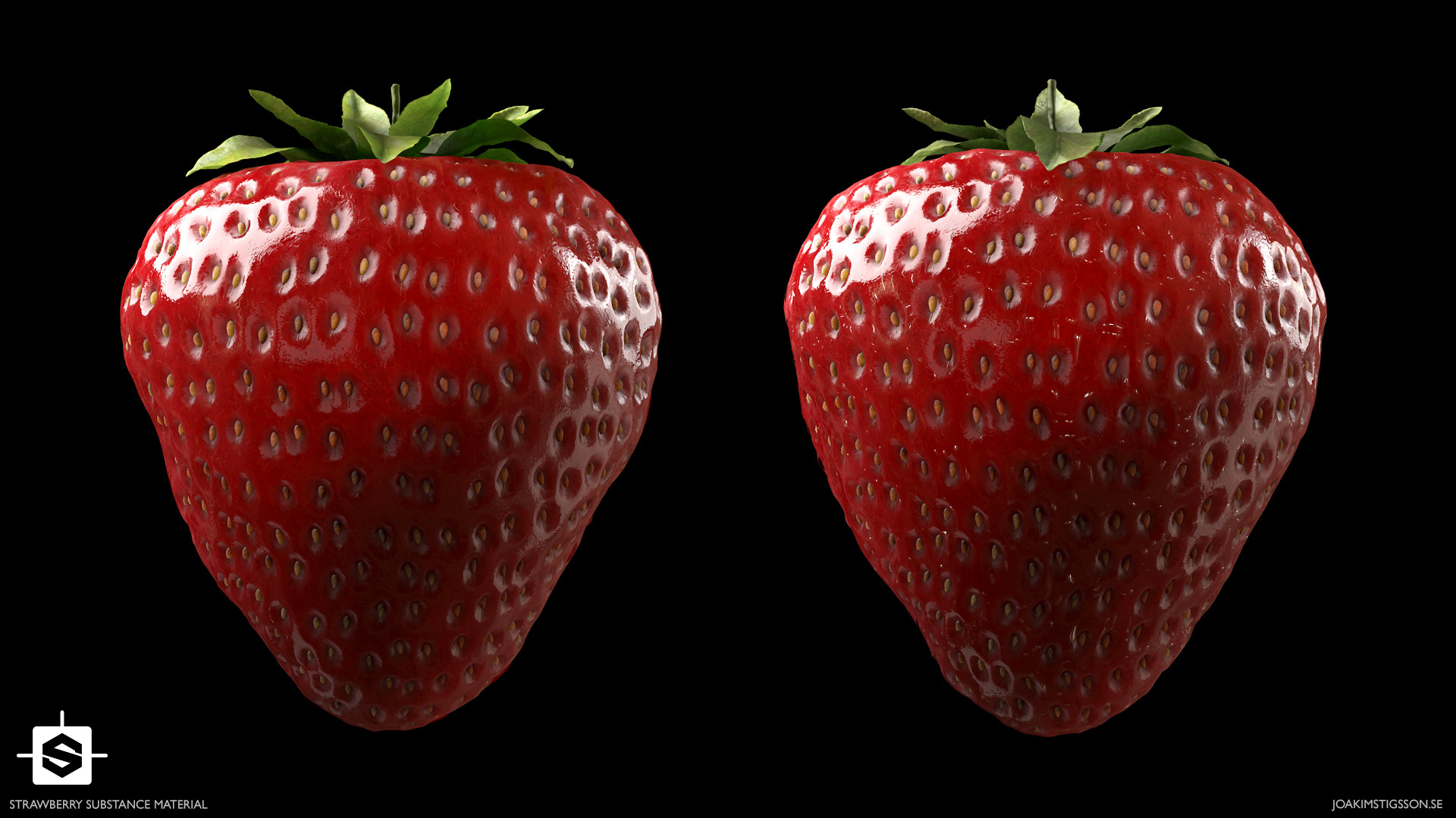 Joakim stigsson strawberry 01 render