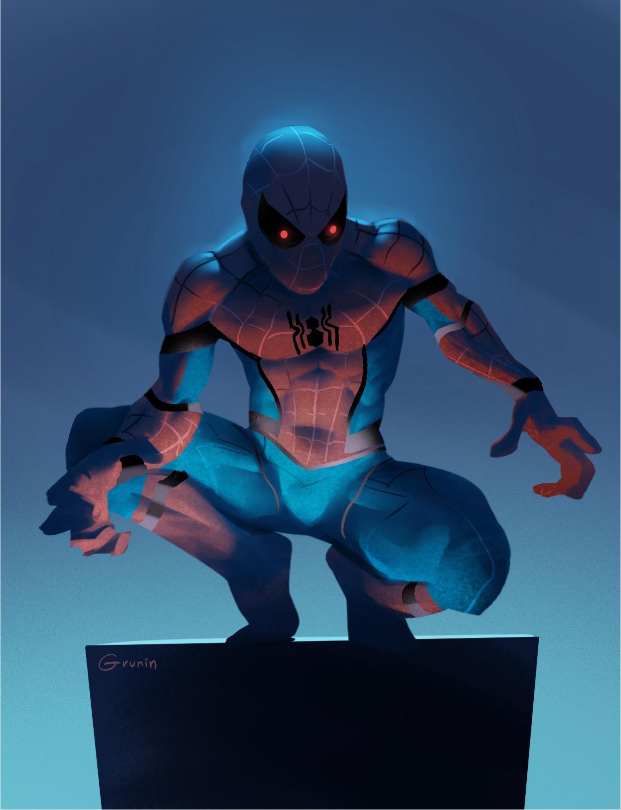 Sergey grunin spider