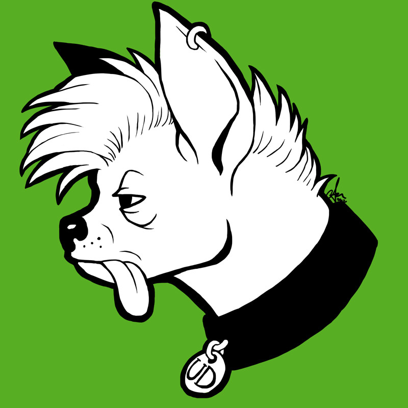 Ugly Dog Logo/Mascot