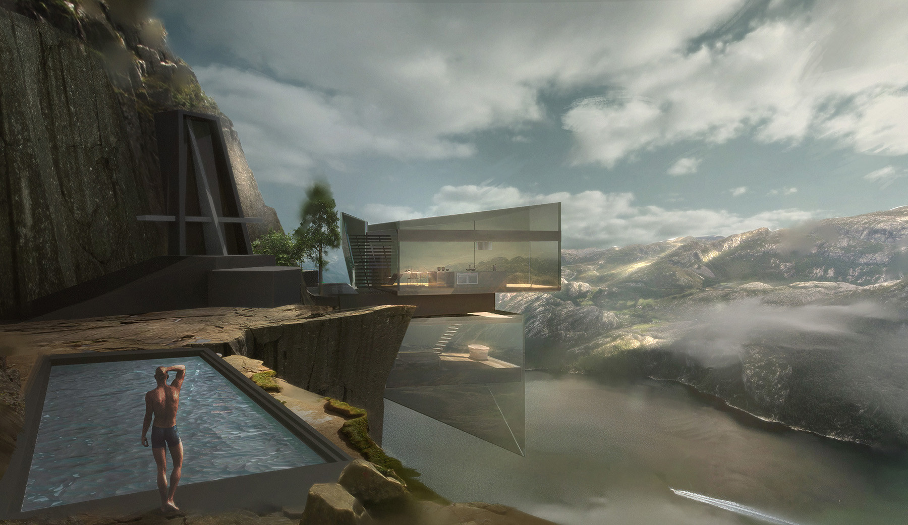 Chen liang cliff house