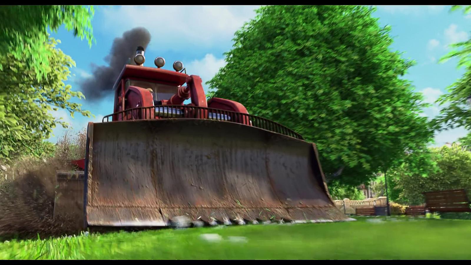 Nut Job 2 - Surfacing for the Bulldozer