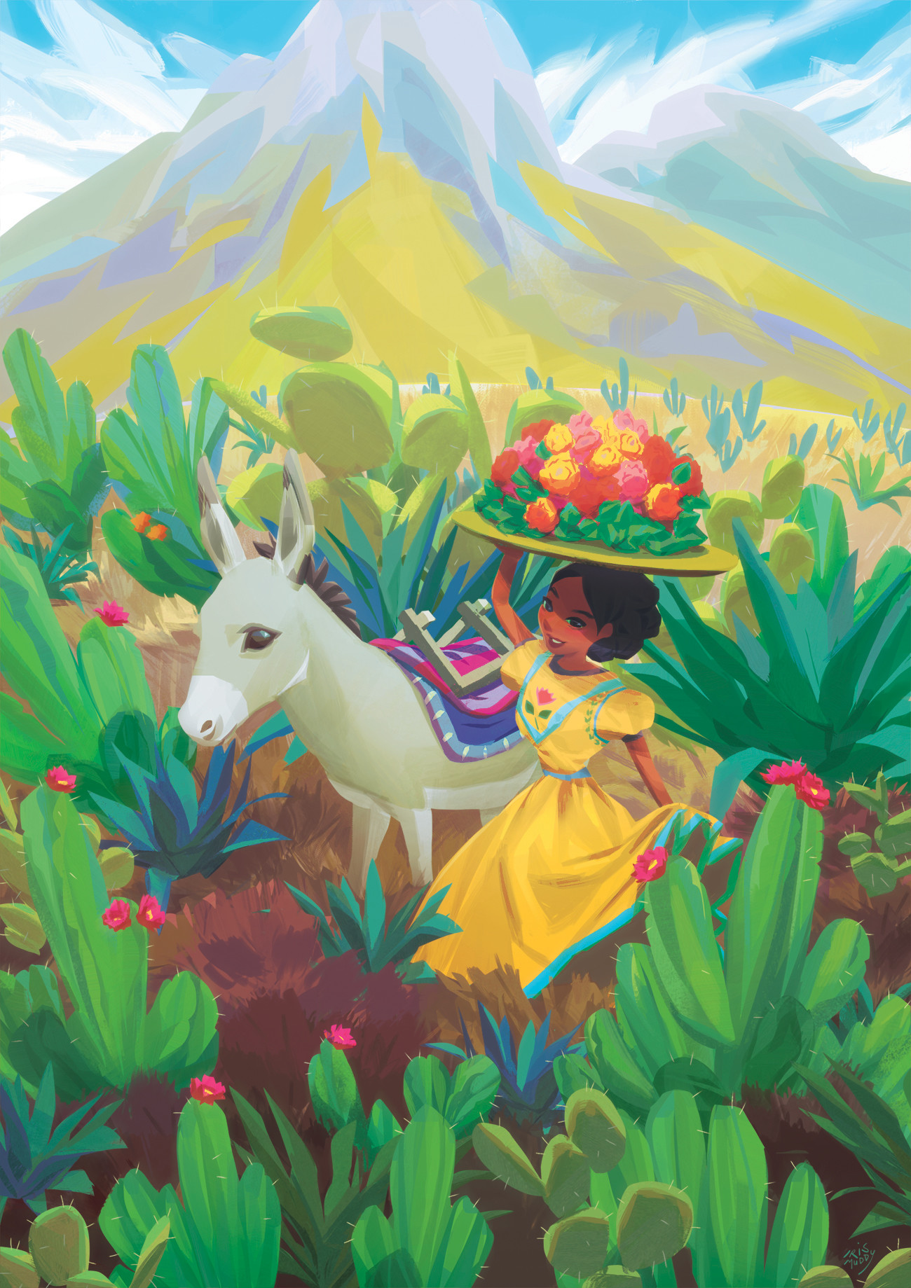 piece for the collective kokoro charity project, based on mexico this year~