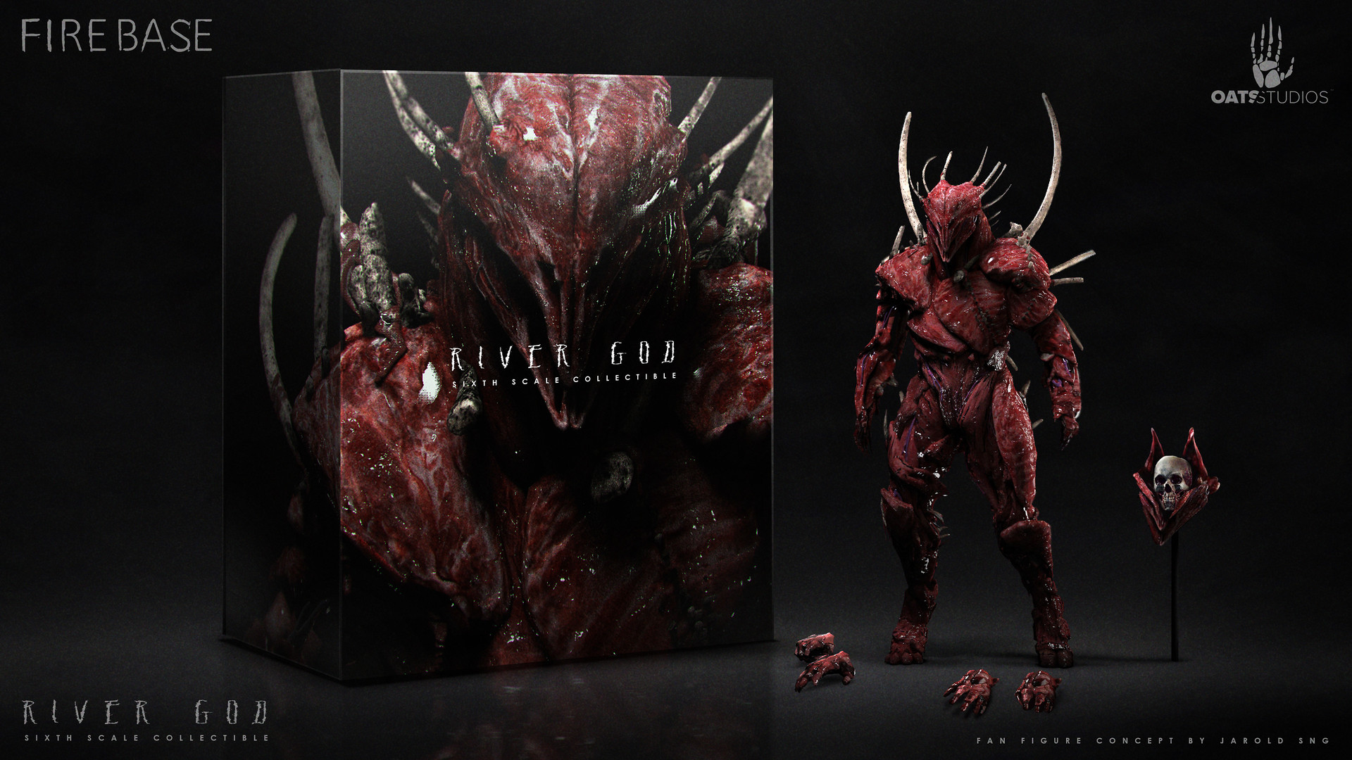 Jarold Sng Fan Art River God Renders And Collectible
