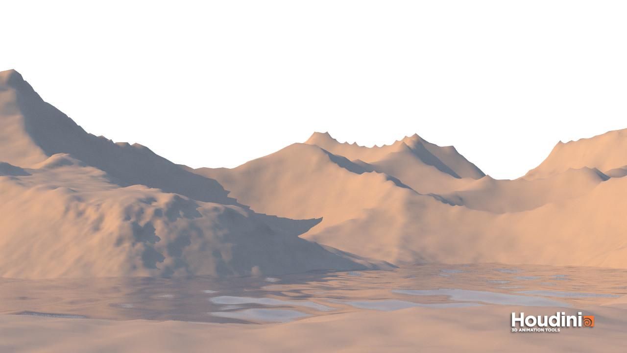 Terrain close up