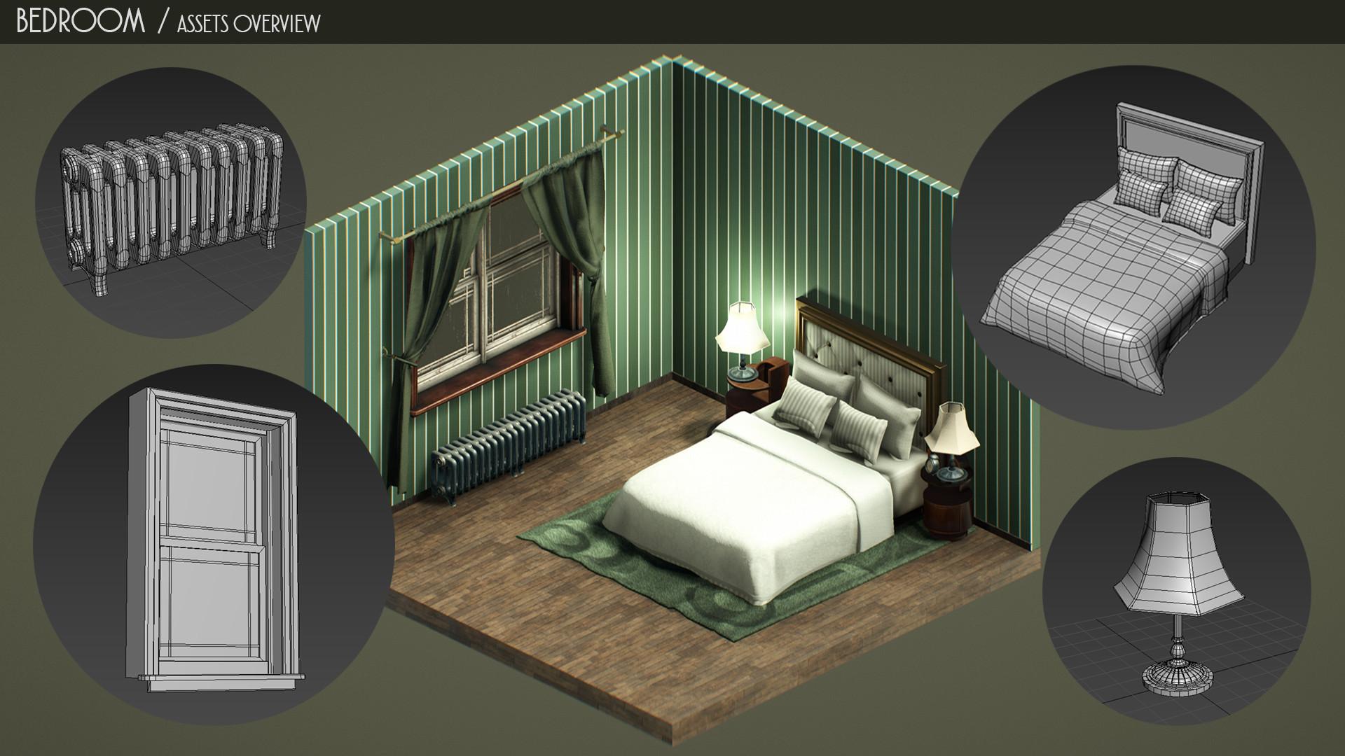 Augustin grassien bedroom assetsoverview