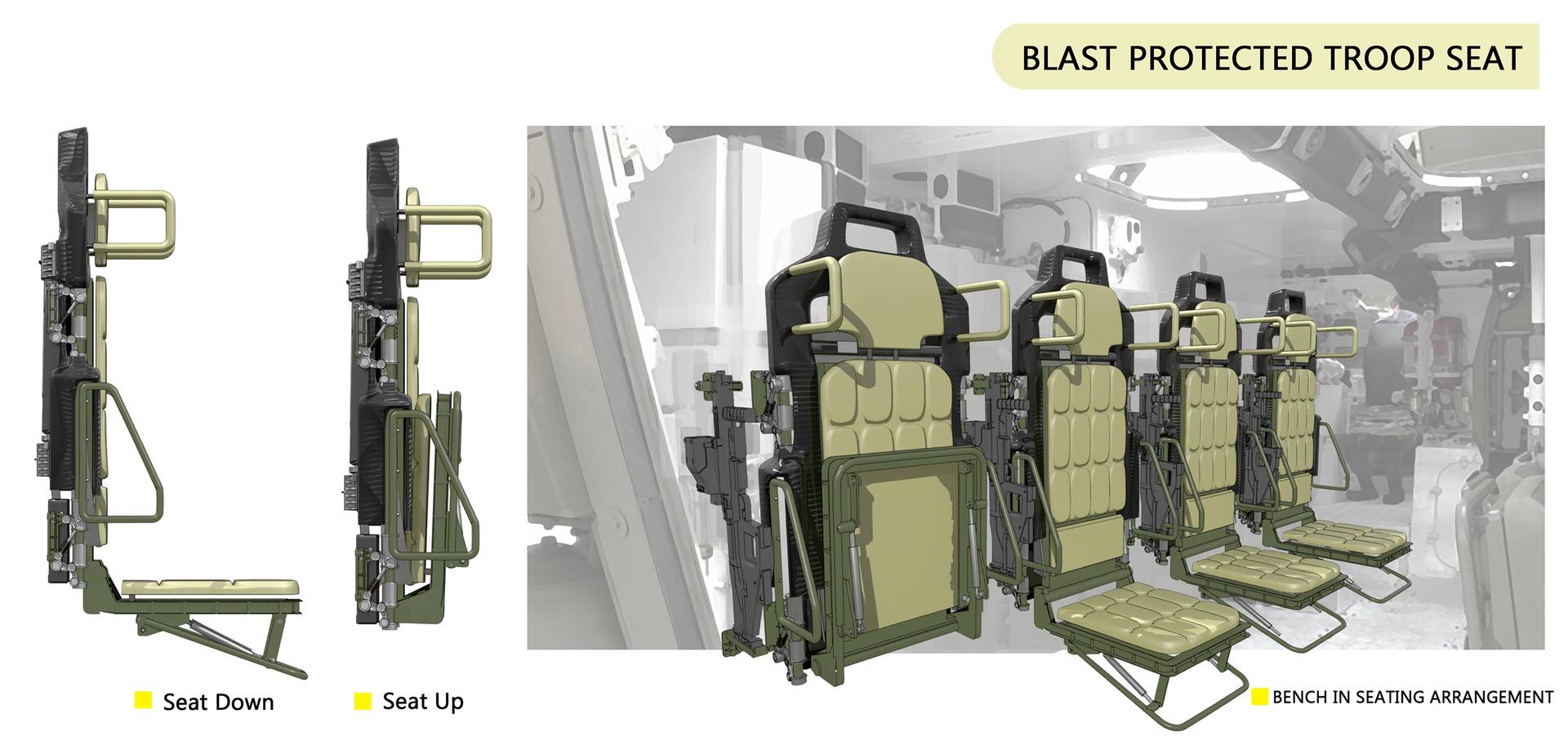 Chen liang troop seat b