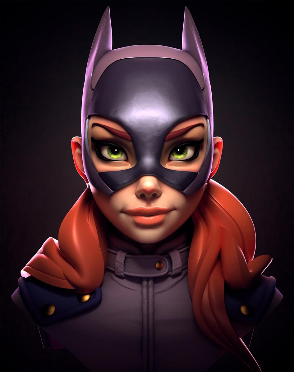 Batgirl faceoff fanart