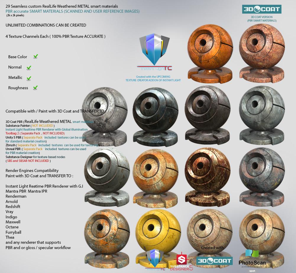 SMART MATERIAL PROCEDURAL - Page 11 - 3DCoat - 3D Coat Forums