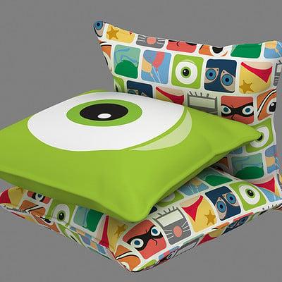 Roger borelli pixar pillows v01