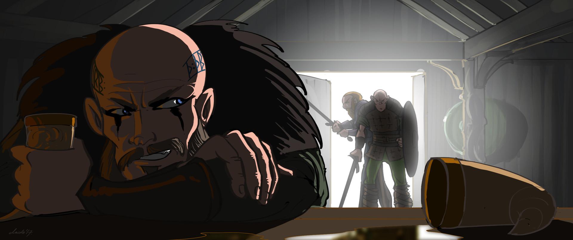 Midhat kapetanovic vikings cartoon 01