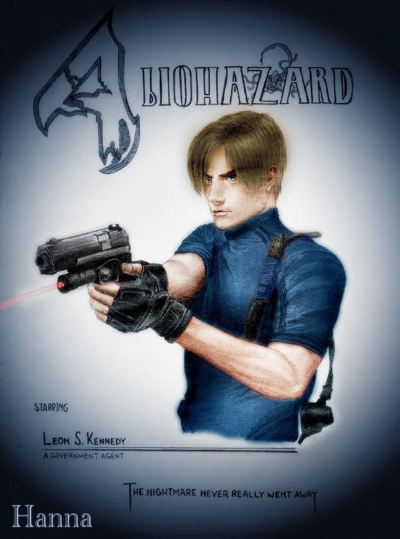 Artstation Leon S Kennedy Resident Evil 4 Hanna Nomani