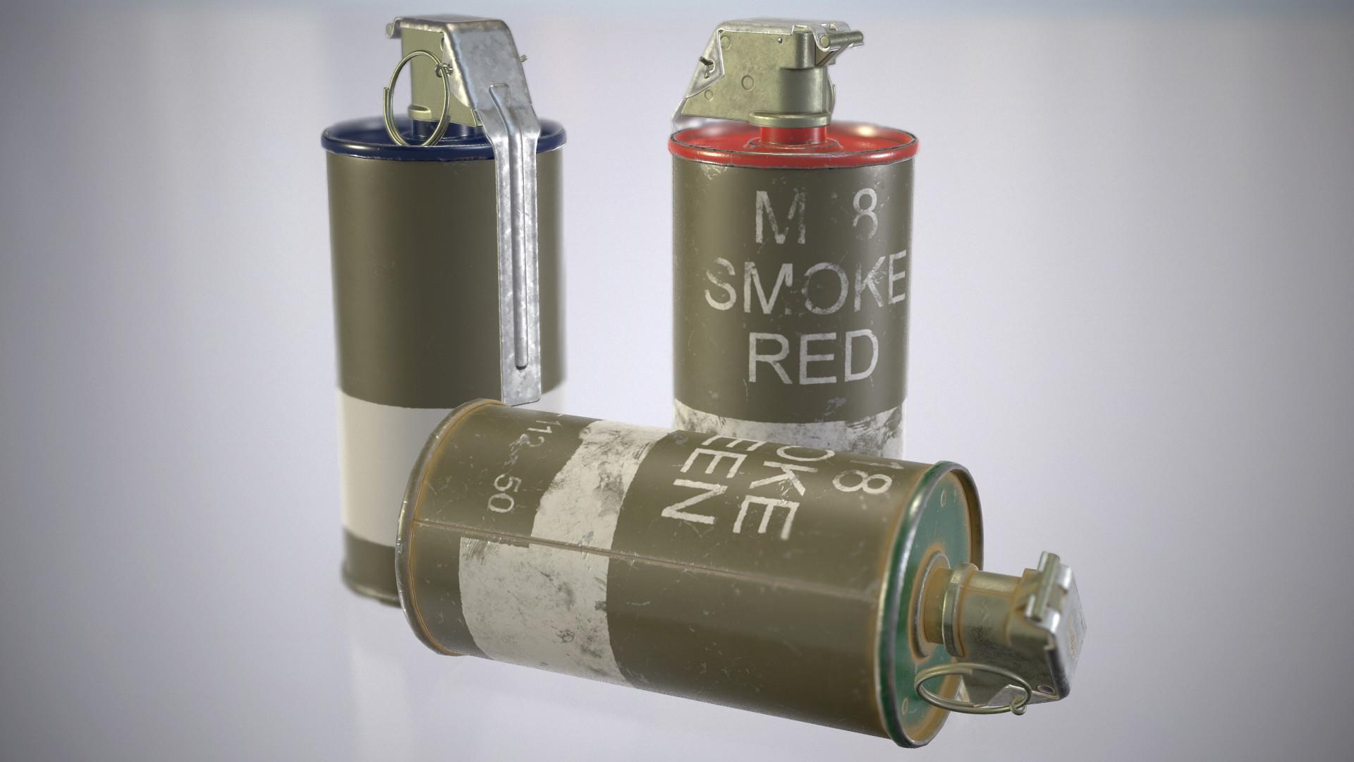 Matěj Pína - AN M18 Smoke Grenade